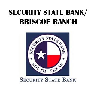 SECURITY STATE BANK AND BRISCOE RANCH
